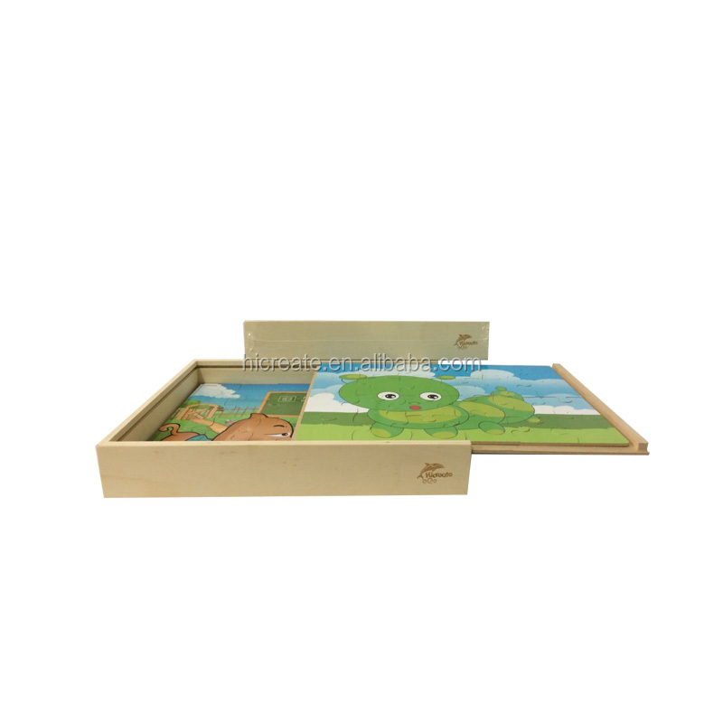 hot sale 4 in 1 kids board game puzzle case