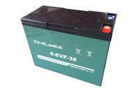 EVF Series VRLA Gel Battery for Electric Vehicles, 12V 38Ah at 3hr rate