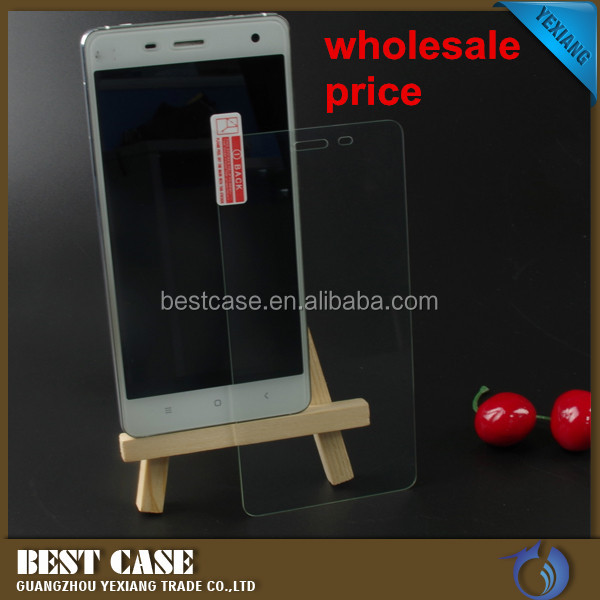 High clear and anti-fingerprint full-sized tempered galass screen protectorfor lg A536
