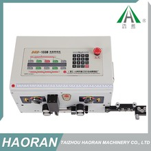 Electric strip machines,double ends wire cutting stripping crimping machine