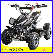 Factory direct sale 4 Wheel 49CC 2-stoke air cooled electric atv