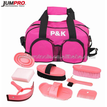 9pc Horse Grooming Kit with High Quality Tool Bag
