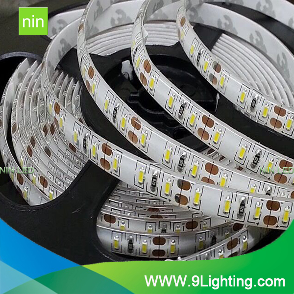 CE/ROHS/GS SMD 5050 or SMD 3528 Warm White Flexible LED Strip Light