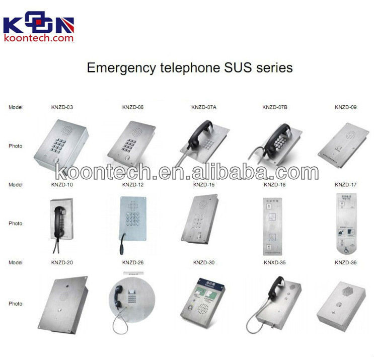 Telephone voip office intercom system sip door phone