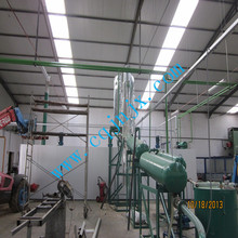 newest generation continuous black oil recycling machinery
