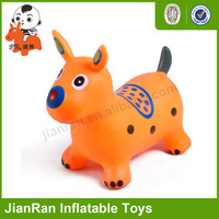 Inflatable animal toys for kids, Bouncy animal, PVC jumping Dog