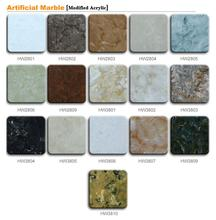 artificial quartz stone granite counter top in china trench drain shower pan