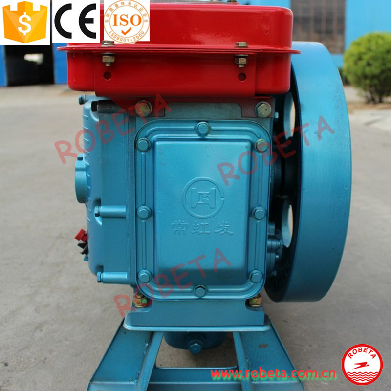single cylinder diesel engine 12hp/tractor/small generating sets/air-compressor/inland ships