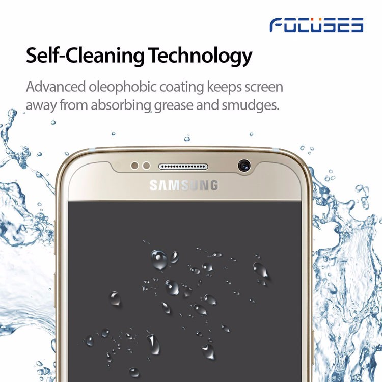 Free shipping factory directly mobile tempered glass screen protector 99% clear screen guard for samsung galaxy s3 s4 s5 s6