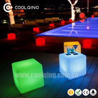 Party even club pub Christmas Decoration Garden Cube LED Light 3D LED Cube Rechargable LED Cube
