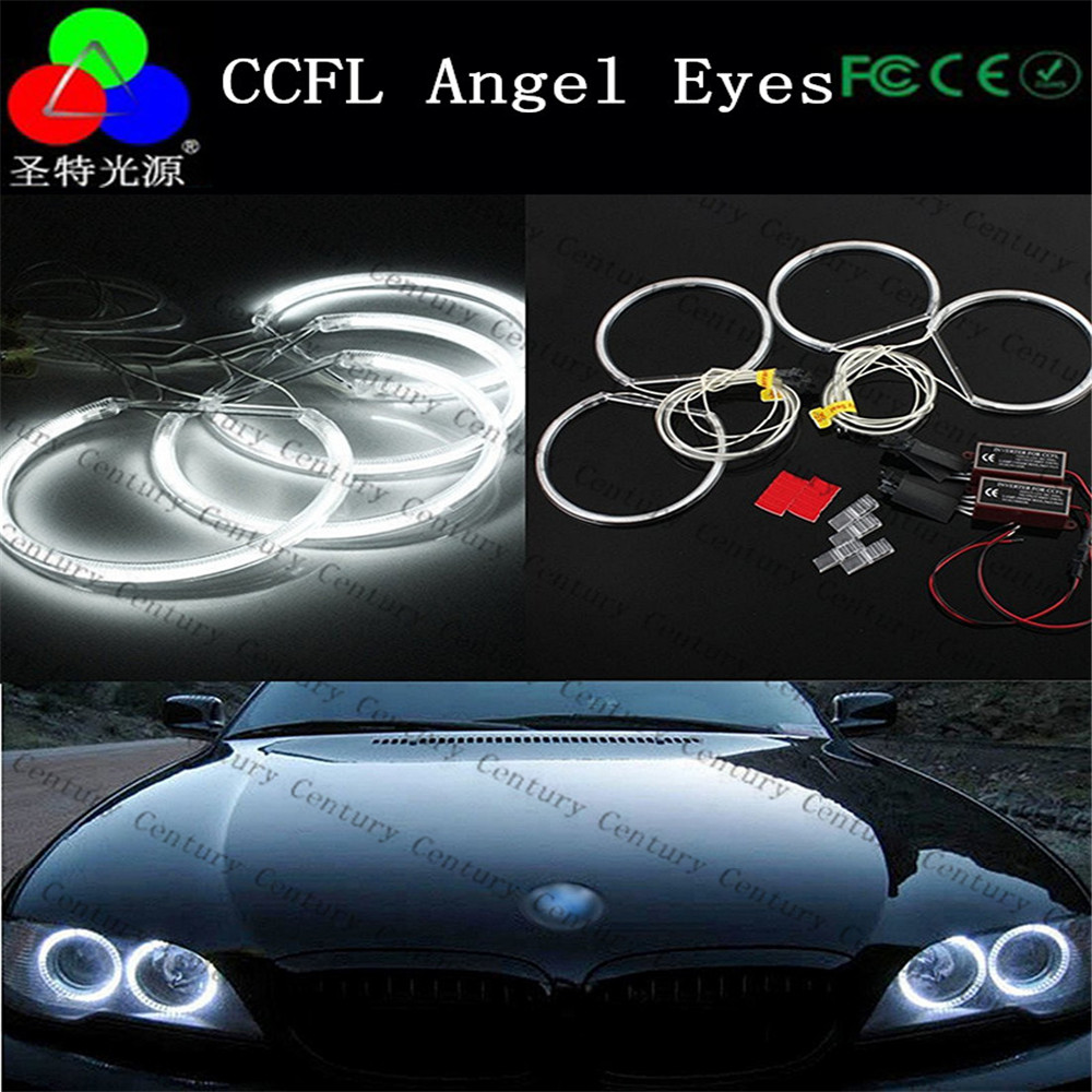 High quality ccfl angel eyes for BMW e46 angel eyes with non projector
