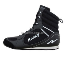 Custom made boxing shoes ,high-top boxing shoes