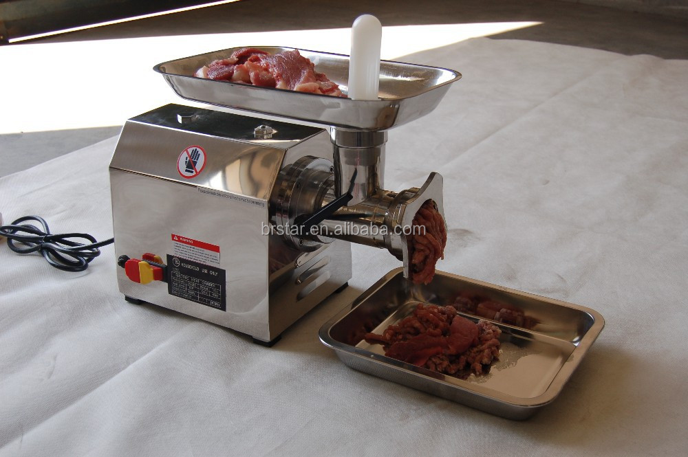 Mirror Polished 304Stainless Steel Electric Meat Grinder