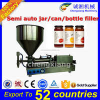 Trade assurance manual bottle filling machine,semi auto paste filler