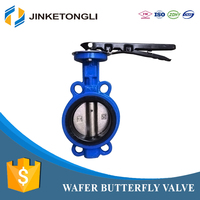 made in china JKTL bronze full lug butterfly valve