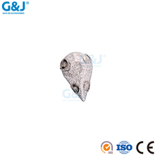 Guojie brand yiwu hotsale flatback price cheap sample free synthetic diamond semi precious crystal bead rhinestone gem stone