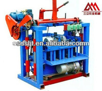 hot selling compressed cement sand blocks making machine QMJ4-40