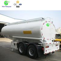 40ft Cryogenic Liquid Mobile Skid LNG LPG Tank Semi Trailer