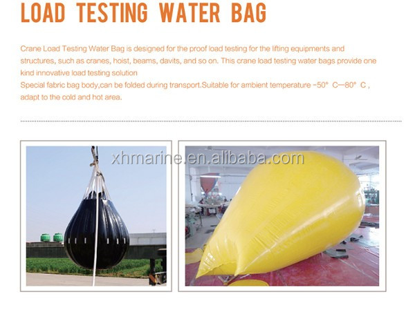 20,000kgs Crane Water Bags for Proof Load Test weight
