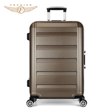 hot sale high quality Aluminum Frame ABS luggage