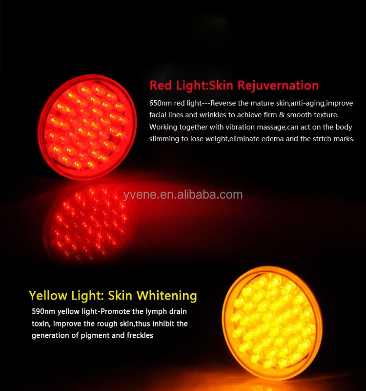 590nm Brighteness skin led light panel acne