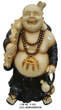 laughing buddha statue stand for luck for home decor /buddha sculpture