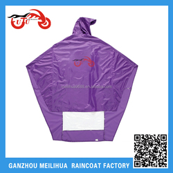 2015 Cheap Price Nylon PVC Bicycle Rain Poncho Suit / Wheelchair Poncho