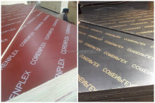 18mm WBPor melamine construction marine plywood from Chinese Haiyang Wood