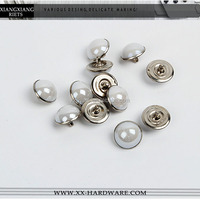 decorative accessory, pearl rivet for clothes/belts/shoes, cheap rivet