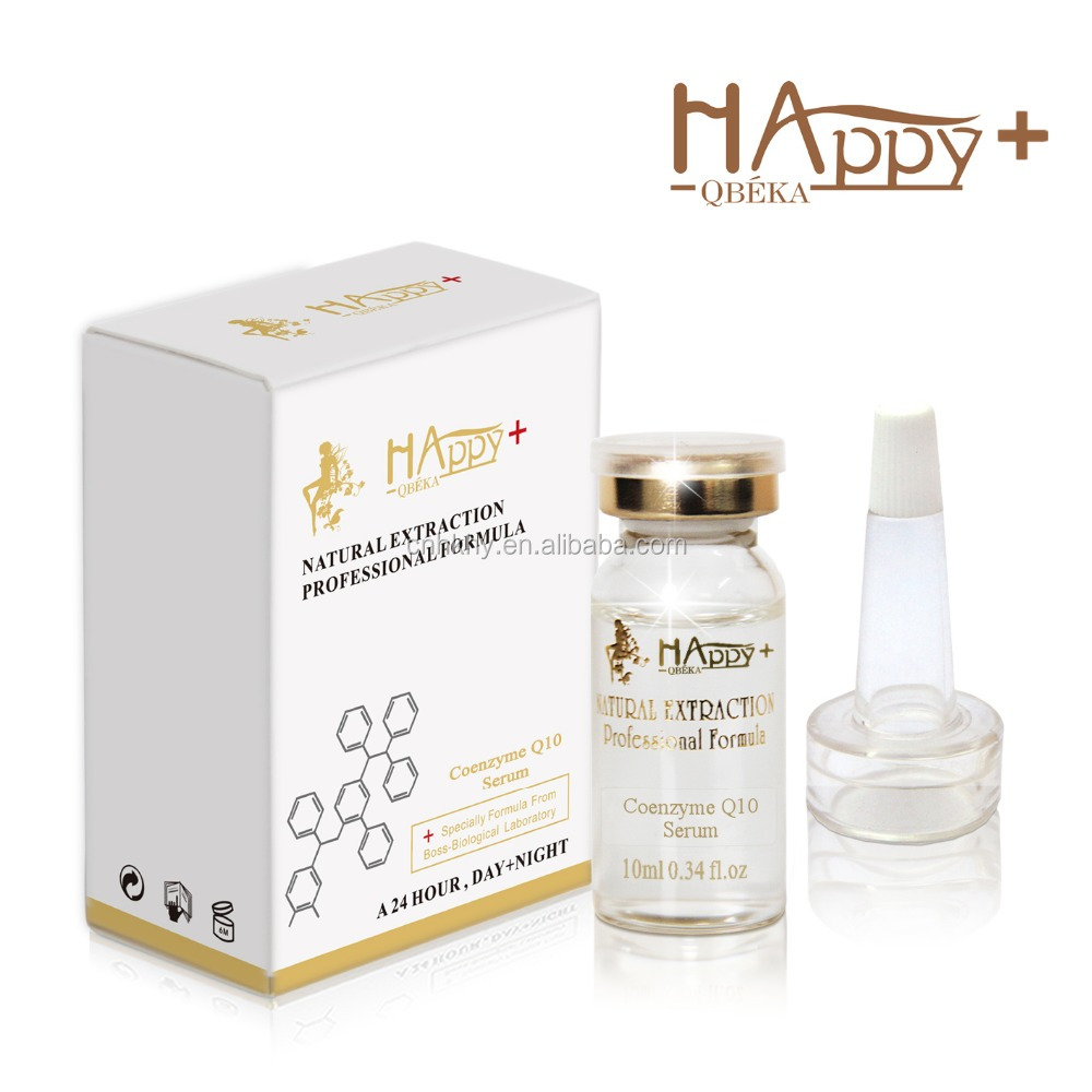 Happy+ <strong>Q10</strong> Anti Agiing Serum - Wrinkle Lifting Essence - For Aging Face
