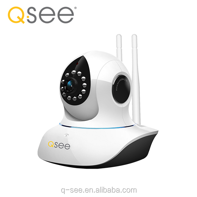 Q-SEE Smart Eye Plug Play p2p Camera HD 720P Mini Wired/Wireless Wifi IP Camera