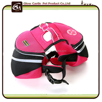 Puppy Saddle Bag Pet Dogs Backpack Travel Hiking Harness Pack Carrier Traveling Carrying Bag