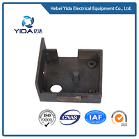 Copper die casting pieces custom tube bend parts