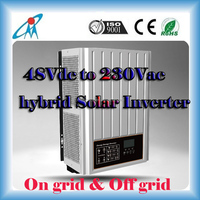 On grid hybrid Solar Inverter 2kw tie grid power inverter 48vdc to 230vac inverter