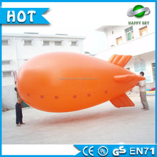 2016 Most popular custom size 0.18mm pvc inflatable blimp for sale, inflatable blimp, Helium Airship for advertising