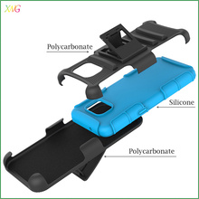 XWG cell phone accessory of high quality Silicone mobile phone case for Galaxy S7