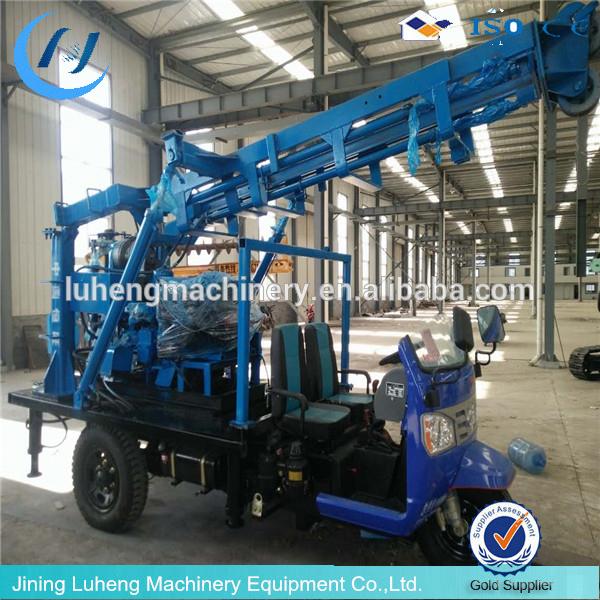 High efficiency used portable water well drilling rigs for sale