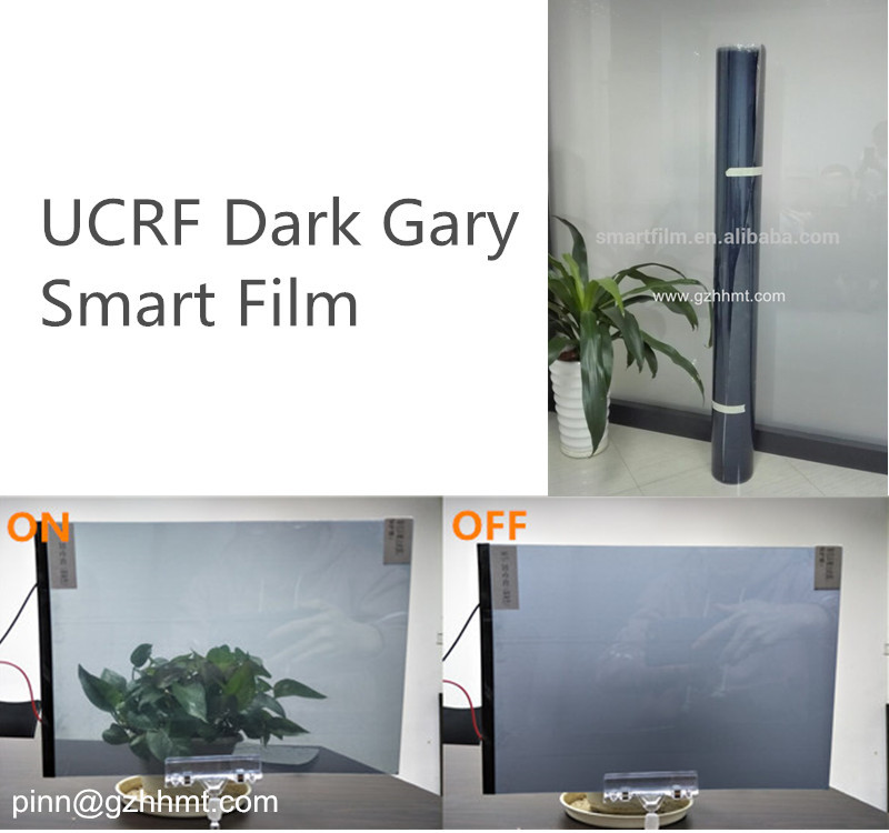 PDLC self adhesive decorative film electric switchable transperant film for glass dimmable nematic liquid crystal smart tint
