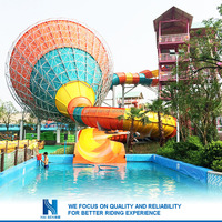 Hot sell New design big kahuna inflatable water slide Factory in china