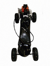 2 stroke gas skateboard with 49cc motor scooter;skater X