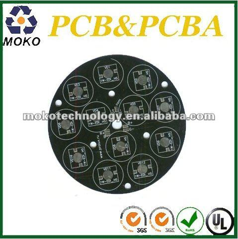 Aluminum Pcb board with black soldermask