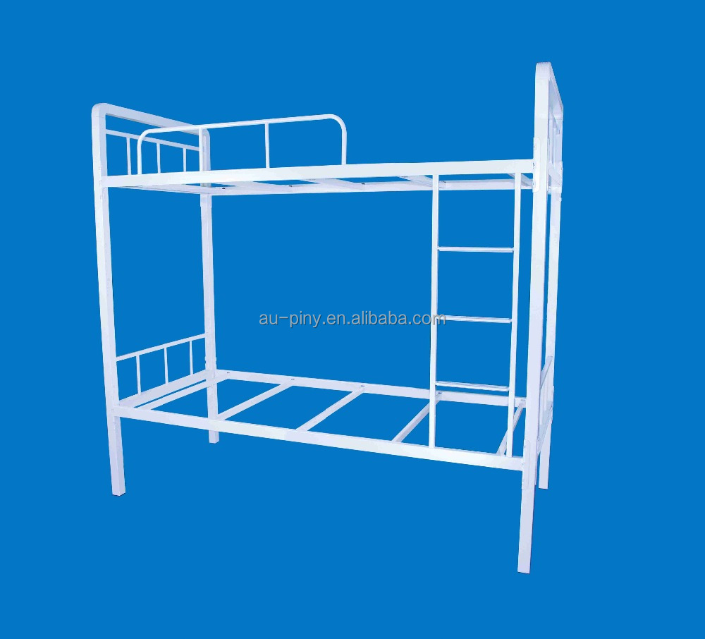 Cheap metal bunk beds kids two decker bed steel bunk bed for Cheap metal bunk beds
