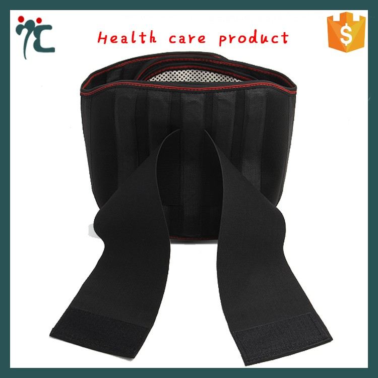 Body slimming back support waist training back pain relief belt