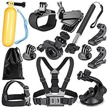 Hot Sale 16 in 1 Gopros Accessories, Go pro Accessories Set/Kit/Bundle