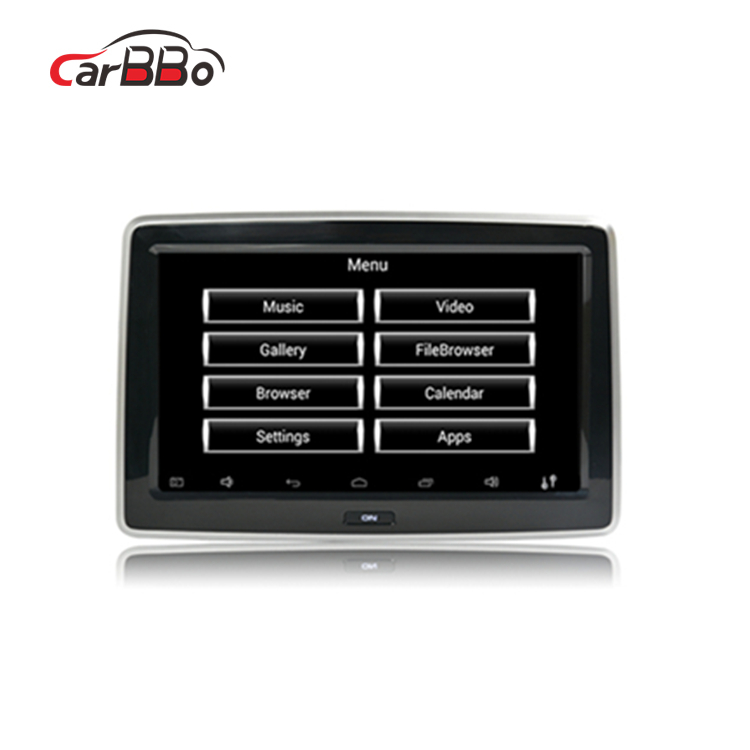 10.1 Inch Android Car Headrest Monitor Touch Screen Display Car Dvd <strong>Player</strong>