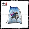 Colourful cheap custom drawstring bags, small drawstring pouch, pp woven shopping bags