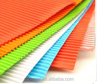 Plain colour 50*70 Corrugated art paper&paperboard