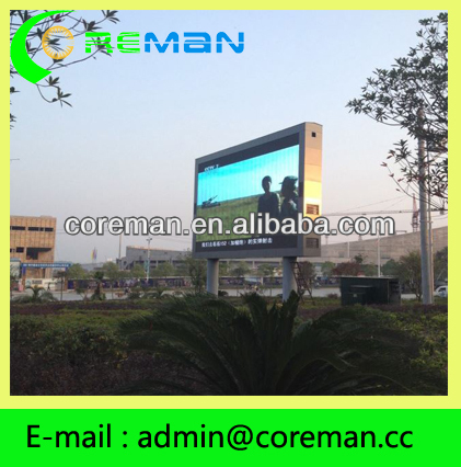 New product on china market small pixel true color small big size 256X128 p8 led info board