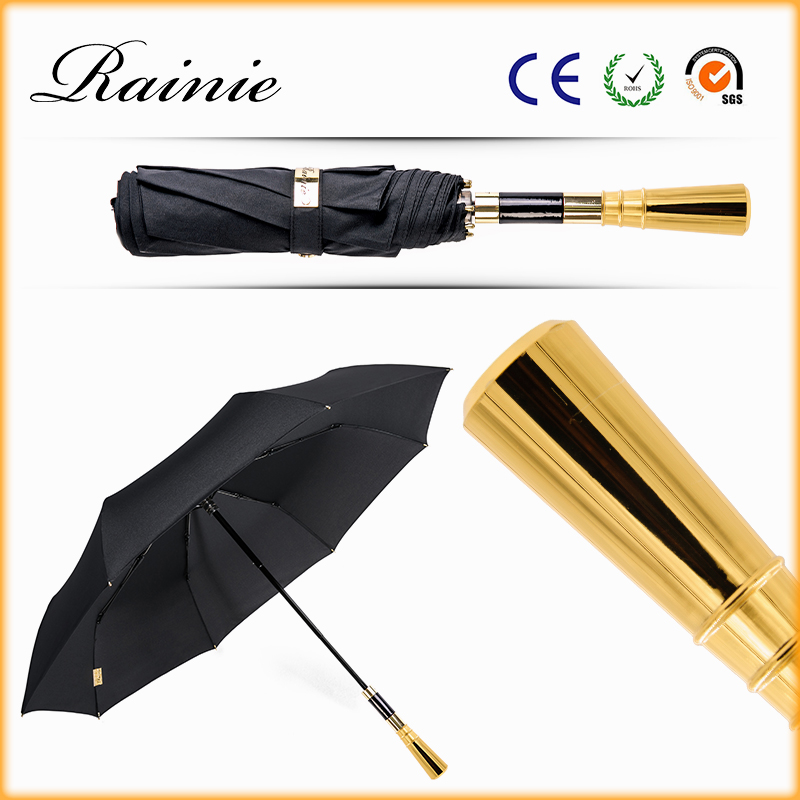 2016 New Arrival Outdoor Windproof Parasol 3 Fold Walking Umbrella
