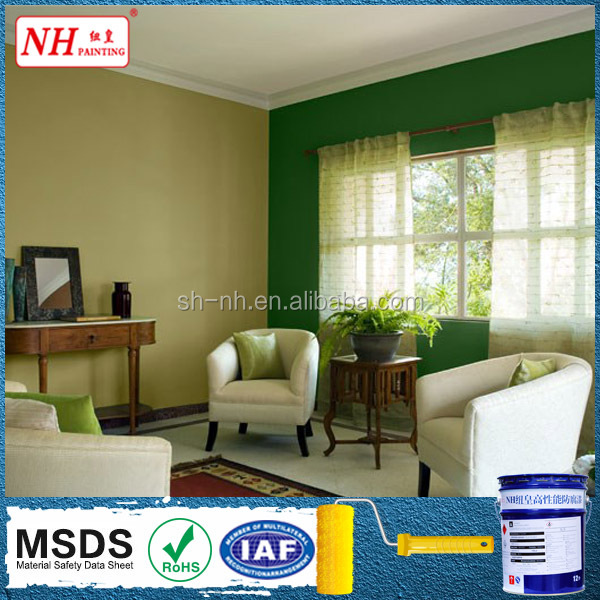 Economical acrylic polymer emulsion interior wall paint